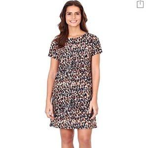 Jude Connally Cheetah Black Ella dress A1725